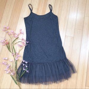 ModCloth MYSTREE tulle skirted Dress, L.